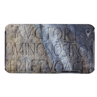 Roman typography at the Forum, Rome, Italy iPod Touch Case-Mate Case