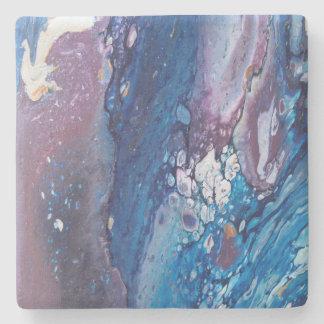 Romance Acrylic Pour Stone Coaster