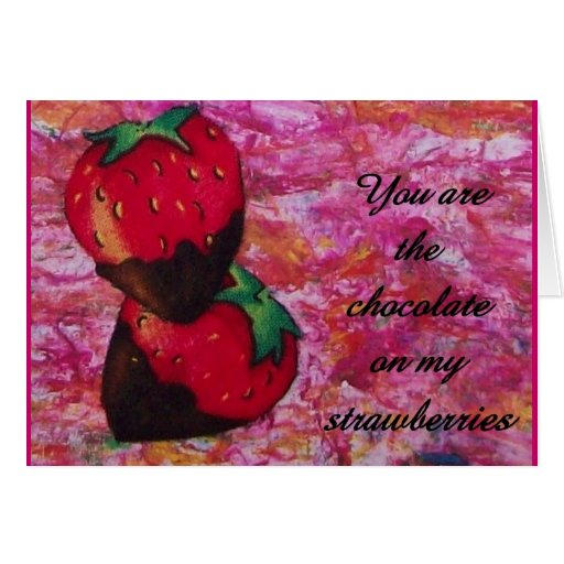 Romance in Berry Form Card
