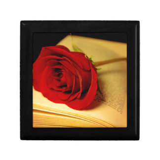 Romance in Literature Small Square Gift Box