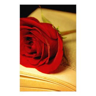 Romance in Literature Stationery