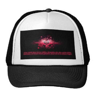 Romance in pink ones trucker hats