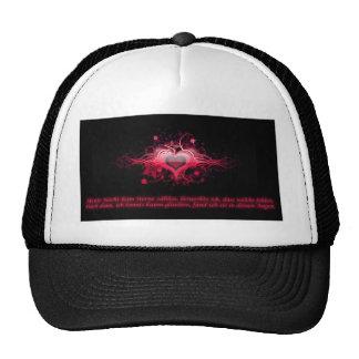 Romance in pink ones cap