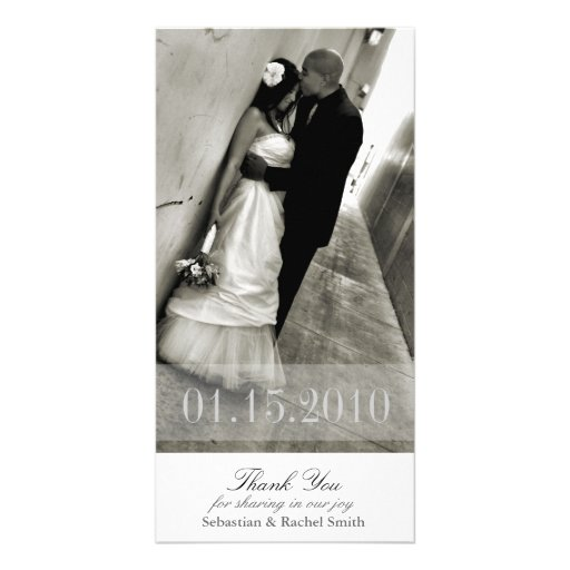 ROMANCE IN WHITE PICTURE CARD