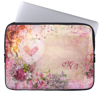 Romance Laptop Sleeve with (or without) Initials