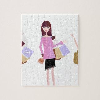 Romance model Girls : Tshirts Jigsaw Puzzle