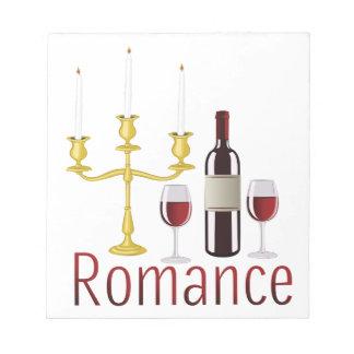Romance Notepads