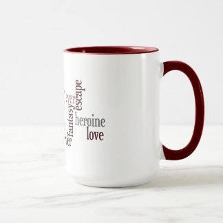 Romance Novel Mug