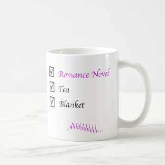 Romance Novel - Tea - Blanket Mug