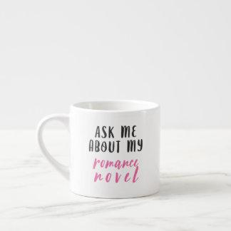 Romance Novel (White-Pink-Black) Espresso Cup