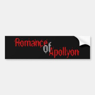 Romance of Apollyon Bumper Sticker