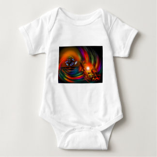 Romance OF sailing - time tunnel Baby Bodysuit