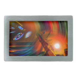 Romance OF sailing - time tunnel Belt Buckle