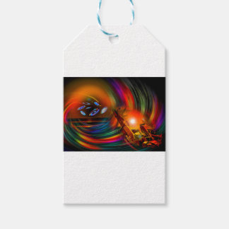 Romance OF sailing - time tunnel Gift Tags