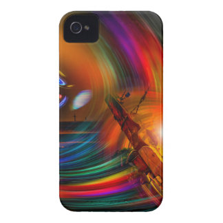 Romance OF sailing - time tunnel iPhone 4 Cases