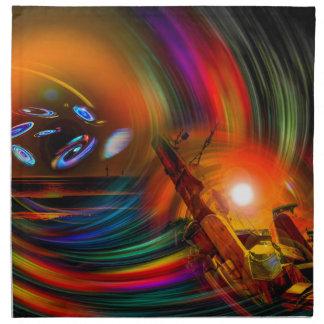 Romance OF sailing - time tunnel Napkin