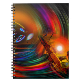 Romance OF sailing - time tunnel Notebooks