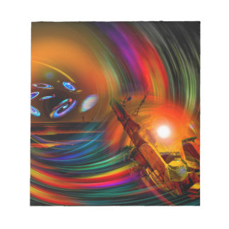 Romance OF sailing - time tunnel Notepad