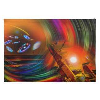 Romance OF sailing - time tunnel Placemat