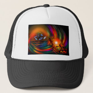 Romance OF sailing - time tunnel Trucker Hat