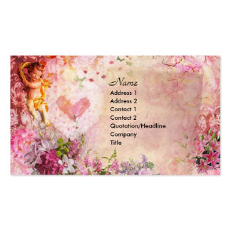 Romance Pack Of Standard Business Cards