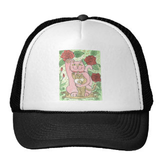 Romance, Red Roses, & The Lucky Yin Yang Heart Cap