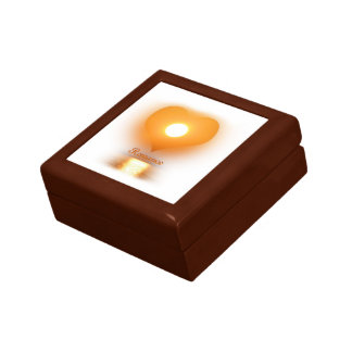 romance small square gift box