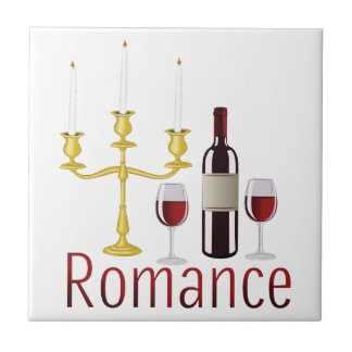 Romance Small Square Tile