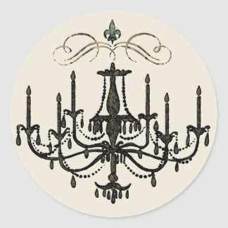 Romance with a Chandelier ~ Stickers