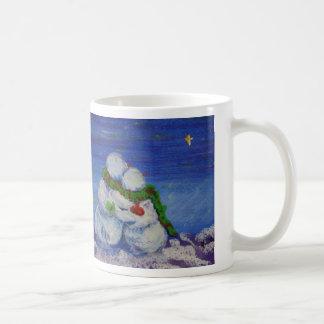 Romancing Snowman 11 oz Classic White Mug