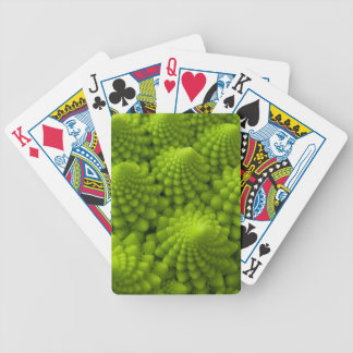 Romanesco Broccoli Fractal Vegetable Bicycle Playing Cards