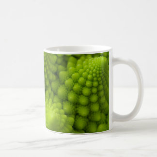 Romanesco Broccoli Fractal Vegetable Coffee Mug
