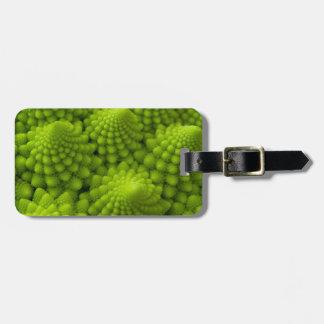 Romanesco Broccoli Fractal Vegetable Luggage Tag