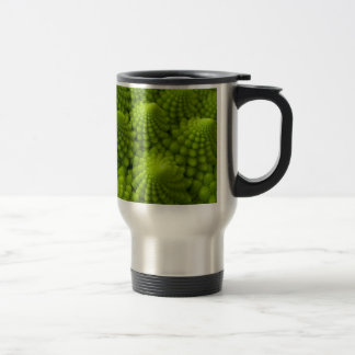 Romanesco Broccoli Fractal Vegetable Travel Mug