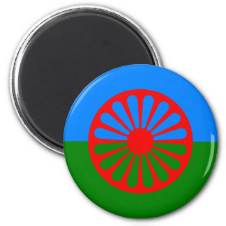 Romani Flag Fridge Magnet