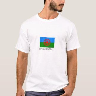 Romani flag, T-Shirt