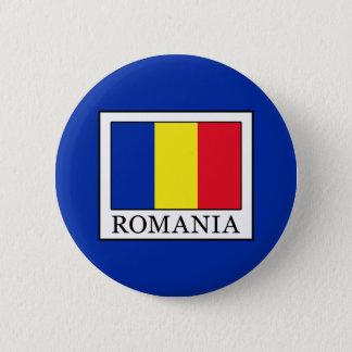 Romania 6 Cm Round Badge