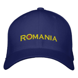 Romania Embroidered Hat