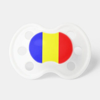 Romania Flag Baby Pacifiers