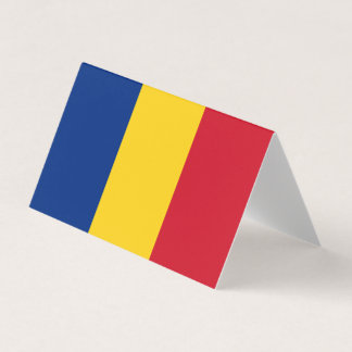 Romania Flag Card
