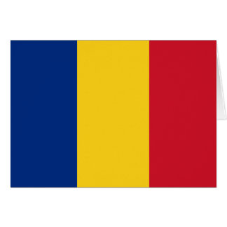 Romania Flag Greeting Cards