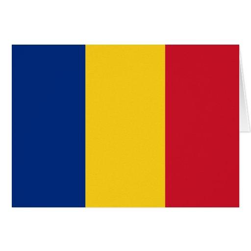 Romania Flag Greeting Cards