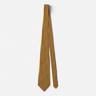 Romania Flag Honeycomb Tie