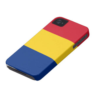 Romania Flag iPhone 4 Case