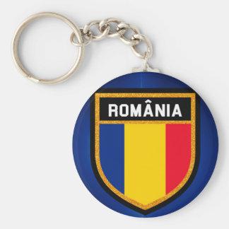 Romania Flag Key Ring