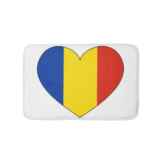 Romania Flag Simple Bath Mats