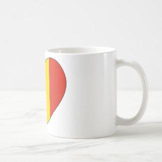 Romania Flag Simple Coffee Mug