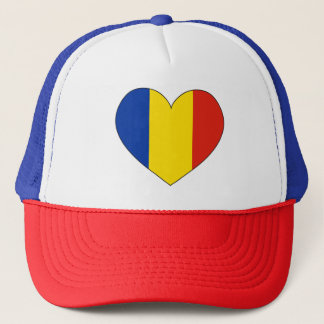 Romania Flag Simple Trucker Hat