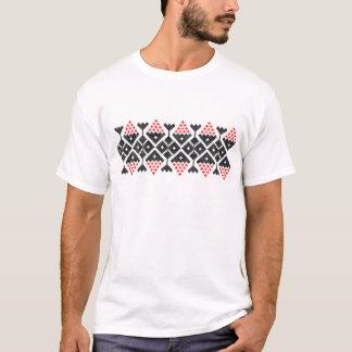 romania folk ethnic dance geometric motif costume T-Shirt