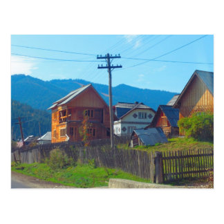 Romania, Moldova, Agricultural village Postcard